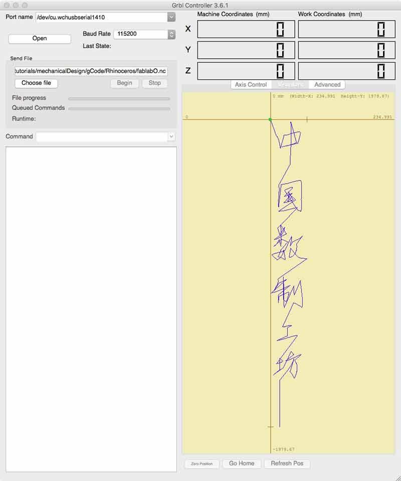 bestia io | Chinese calligraphy G-code encoder